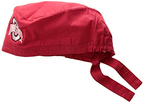 - WonderWink Unisex-Adult's Ohio State University Scrub Cap, red, 1SZ