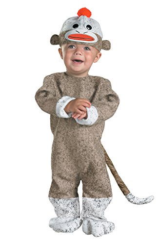 Sock Monkey Costume - Baby 12-18 -