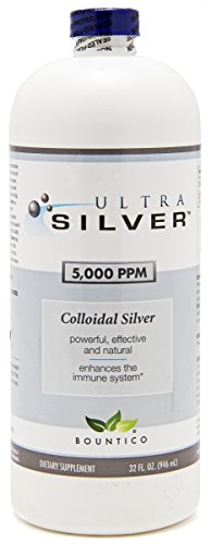 Ultra Silver Colloidal Silver 5000 PPM - 32 Oz