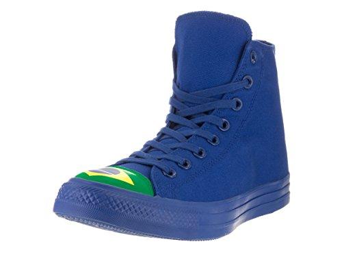 Zapatillas De Baloncesto Converse Unisex Chuck Taylor All Star Hi Blue / Green / A