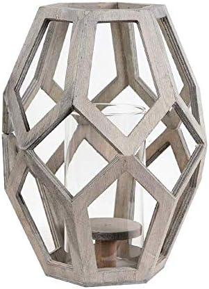HEMFV ローソク足の結婚式トップセンターピース、表の装飾、ホームテーブルの装飾、結婚式、パーティー、新築祝い&誕生日プレゼントに最適の幾何木製ティーライトキャンドルホルダー