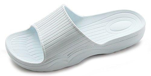 4742e5283b591b Galleon - Posehome Bathroom Women Sandals Shower Slides Indoor Slip On Slides  Sandals Slippers