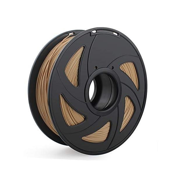 Tonglingusl 3d printer filament 1.75mm 1kg pla abs nylon wood tpu petg carbon asa pc 3d plastic printing filament (color : free, size : nylon)