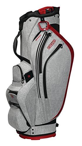 OGIO 2018 Grom Cart Bag, Pomegrnt Light Static