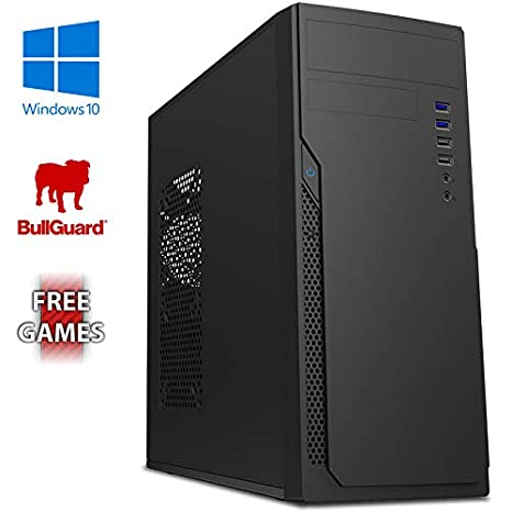 AX-9 Gaming PC Ordenador de sobremesa con 2 Juegos Gratis, Windows 10 Pro OS, WiFi (3,8GHz AMD A6 Dual-Core Procesador, Radeon R5 Gráficos Chip, 8GB ...