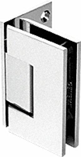 C.R. LAURENCE GEN544BN CRL Brushed Nickel Geneva 544 Series Wall Mount Offset Back Plate Hinge