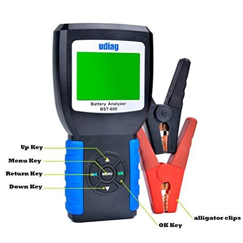 authentic car battery tester udiag bst600 car battery. Black Bedroom Furniture Sets. Home Design Ideas