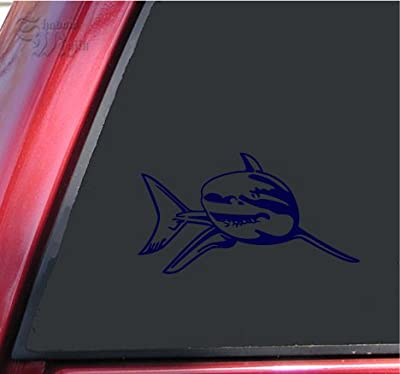 Great White Shark Vinyl Decal Sticker - by ShadowMajik
