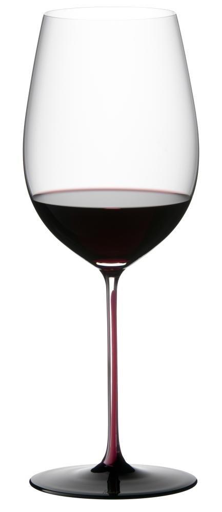 Riedel Sommeliers Black Series Bordeaux Grand Cru Glass, Red/Black