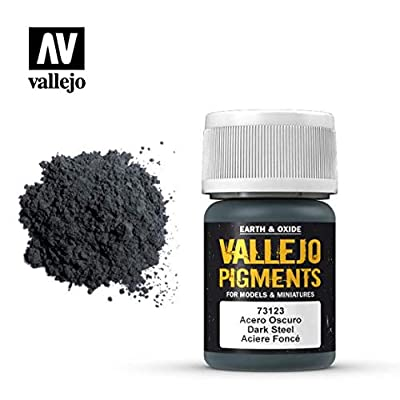 Vallejo Earth and Oxide Pigments, Dark Steel: Toys & Games