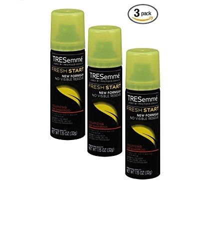 Tresemme Fresh Start Volumizing Dry Shampoo, 1.15 Oz Travel Size Pack of 3 (Three) (1.15 Oz) ()