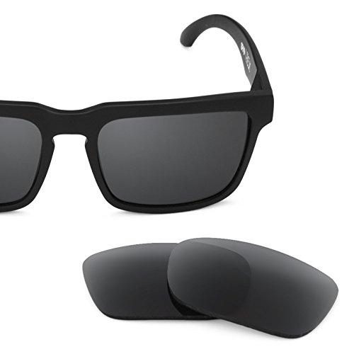 Verres de rechange pour Spy Optic Helm — Plusieurs options Noir - Polarisés