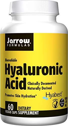 120 Mg 60 Capsules - Jarrow Formulas Hyaluronic Acid, Provides Matrix for Skin Hydration and Skin Repair, 120 mg, 60 Veggie Capsules