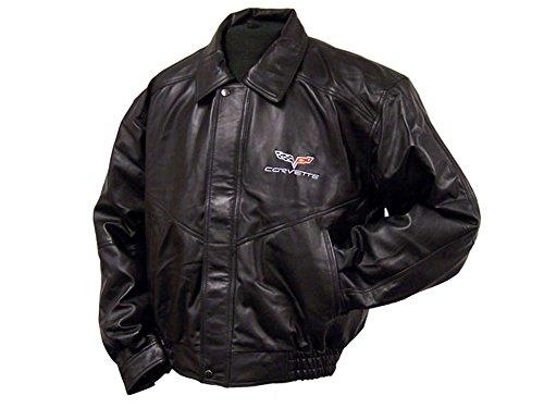 Corvette Leather Bomber Jackets - 1