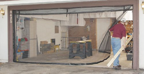 8x7 Garage Door Screen Garage Storage And Organization Equipment
