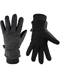 Energetic Waterproof Winter Warm Gloves Men Ski Gloves Snowboard Gloves Motorcycle Riding Winter Touchscreen Snow Windstopper Glove Moderate Price Skiing Gloves