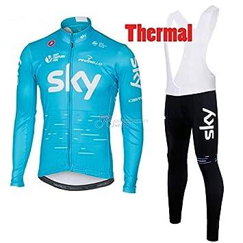 ORD Men s Sportswear Winter Thermal Long Sleeves Cycling Jacket and Bib  Pants Bike Jersey MTB Cycling 1ada2a10b