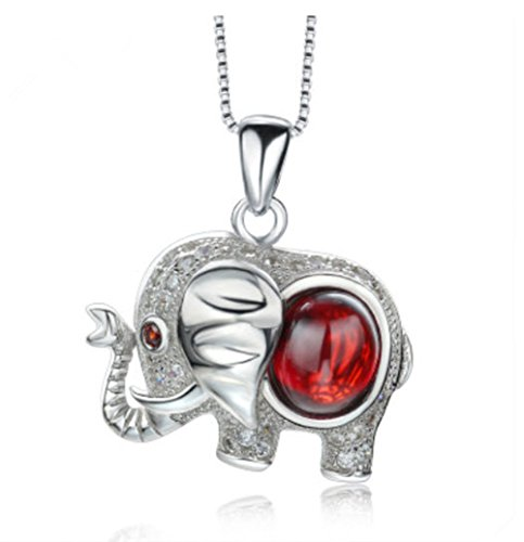 CharmSStory Sterling Thailand Elephant Necklace