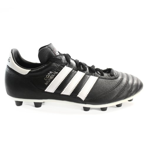 adidas Performance Men's Copa Mundial Soccer Shoe,Black/White/Black,9 M US
