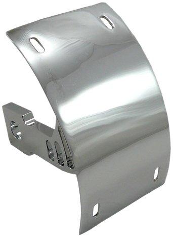 Yana Shiki CYS2549021 Chrome Swing Arm Mount License Plate Frame Tag Bracket for Kawasaki ZX-10 R