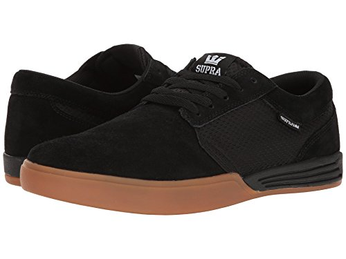 Supra Hammer Skate Shoes Black Gum Size Men's US 9