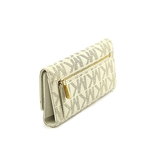 f268bb69c0eb Michael Michael Kors Womens Mk Jet Set Checkbook Wallet by Michael Kors  (Image #1
