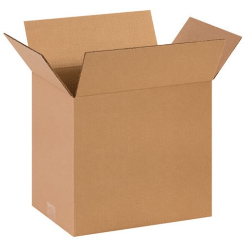 "Aviditi 141012 Corrugated Box, 14"" Length x 10"" Width x 12"" Height, Kraft (Bundle of 25) from Aviditi"
