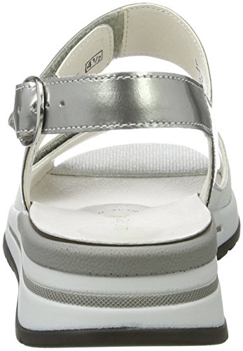 Waldläufer Halisha, Women's Open Toe Sandals Silber (Silber)