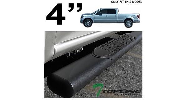 "Chrome Oval 6/""Side Step Nerf Bar//Rail for 2009-2014 Ford F150 Pickup Super Cab"