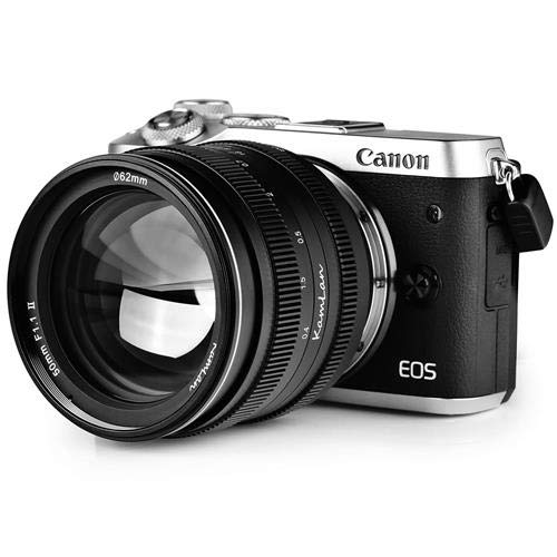 Kamlan 50mm F//1.1 II Micro Single Lens Head for Sony E