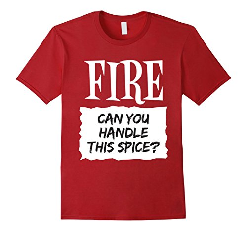 [Mens Fire Shirt Hot Sauce Packet Taco Easy Halloween Costume 3XL Cranberry] (Quick Costume Ideas For Males)