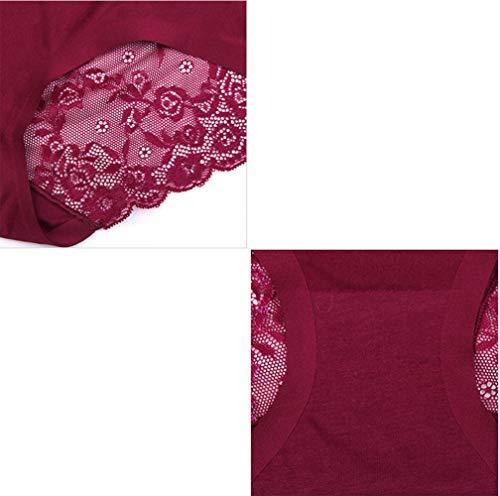 Pièces A4 Dentelle 3 vêtement Sous Dames De Pour TqwxTzYAW7