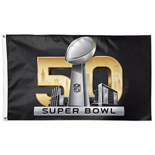 WinCraft NFL Super Bowl 50 Logo Flag