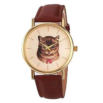 XKC-watches Relojes de Mujer, Mujer Reloj de Vestir Japonés Cuarzo Japonés 30 m