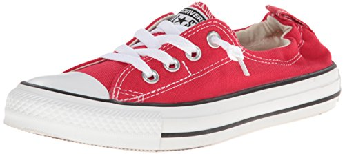 à Shoreline Shoreline toile Slip Varsity Chuck Chaussures Taylor Red base Converse All Star Ox wTnSXnxPq