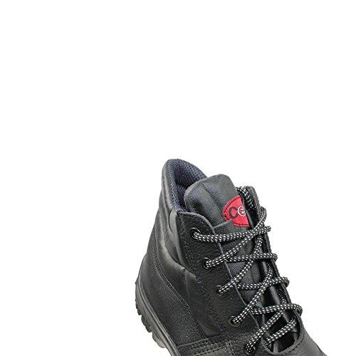 protección Piel Calzado para Centek hombre negro Negro de Negro de negro qnwRqPx6