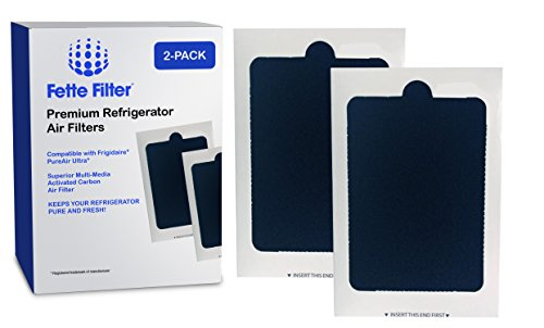2 Pack - Frigidaire PAULTRA Refrigerator Compatible Air Filter - PureAir Universal Air Filter- 100% Satisfaction Guaranteed