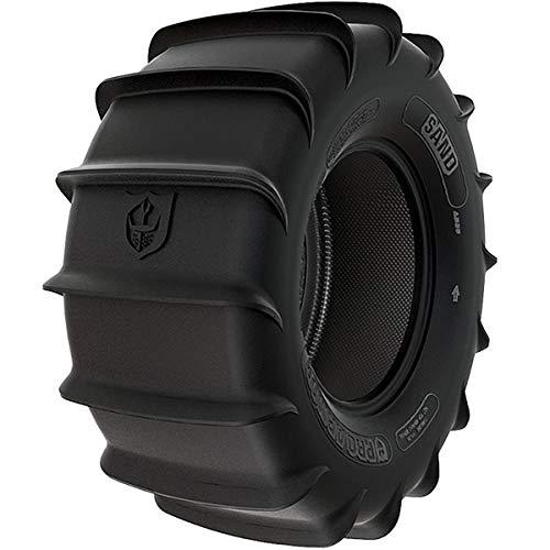 (Pro Armor T301414SA Sand Rear UTV Tire 30x14 R14 4-Ply 16-Paddle for RZR Ranger Maverick)