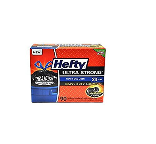 Hefty Ultra Stong 33 Gallon Trash Bags (90 ct.) - Trash Bags