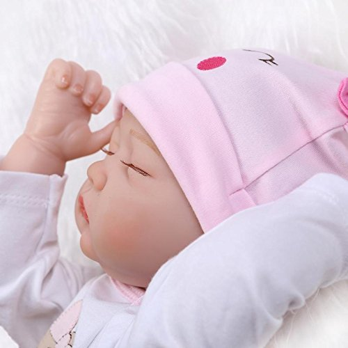 Nicery Reborn Baby Doll Soft Simulation Silicone Vinyl