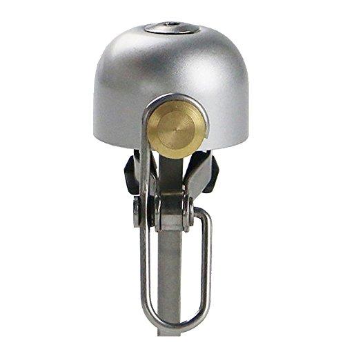 (Pioneeryao Bell for Bike, Bike Bicycle Bell for Road Bike Mountain Bike BMX Bikes (Silver) )