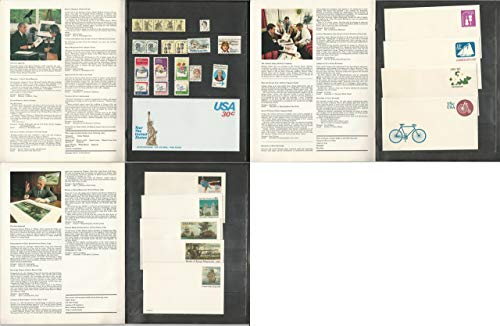 - United States, Postage Stamp, 1980 Definitive & Postal Stationary Year Set