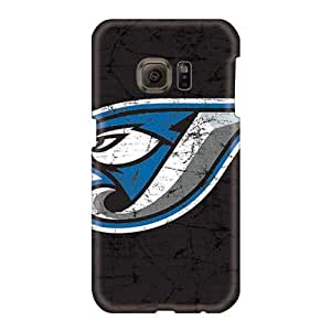 Shock Absorption Hard Phone Case For Samsung Galaxy S6 (Blr24568uszT) Allow Personal Design High-definition Toronto Blue Jays Series