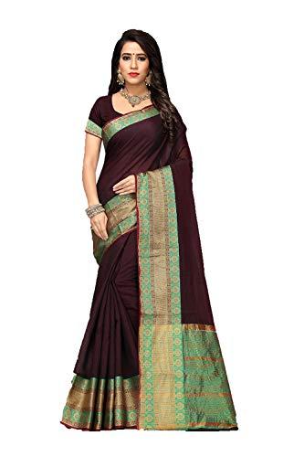 Facioun Wear Women Designer Da Traditional Indian 2 Sari Coffee Party Wedding Sarees dTXX0xw