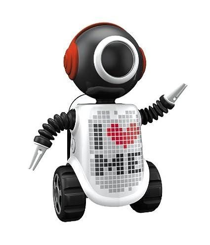 FLIPPER 11034 Big Eye Robot Be Me - Soporte de cepillo de dientes (8 cm