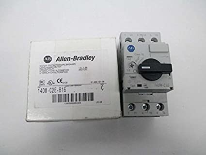 Allen bradley, 140m-c2e-b16, ser b, manual motor controller, 16a.