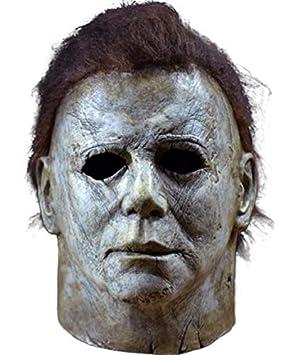farblich passend zu Füßen bei klassische Passform Trick or Treat Studios Süßes oder Saures 2018 Michael Myers Maske für  Erwachsene