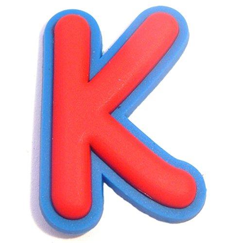 Letter K Shoe Rubber Charm Jibbitz Croc Style