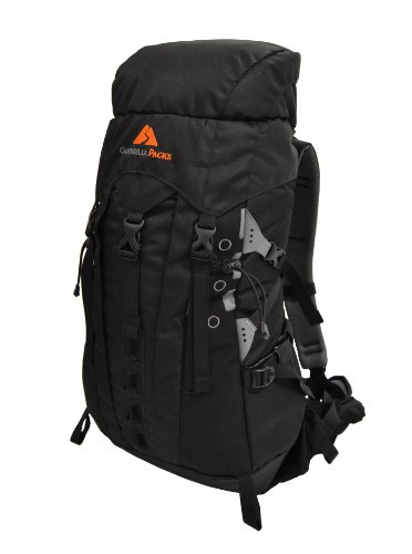 Guerrilla Packs Samurai Internal Frame Backpack, Black