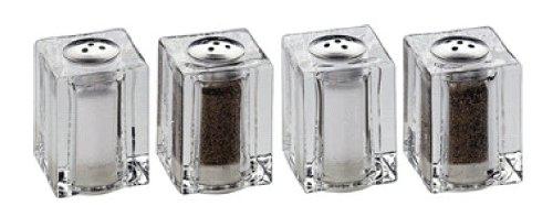 Mini Salzstreuer mini streuerset salzstreuer pfefferstreuer 4teilig amazon de küche